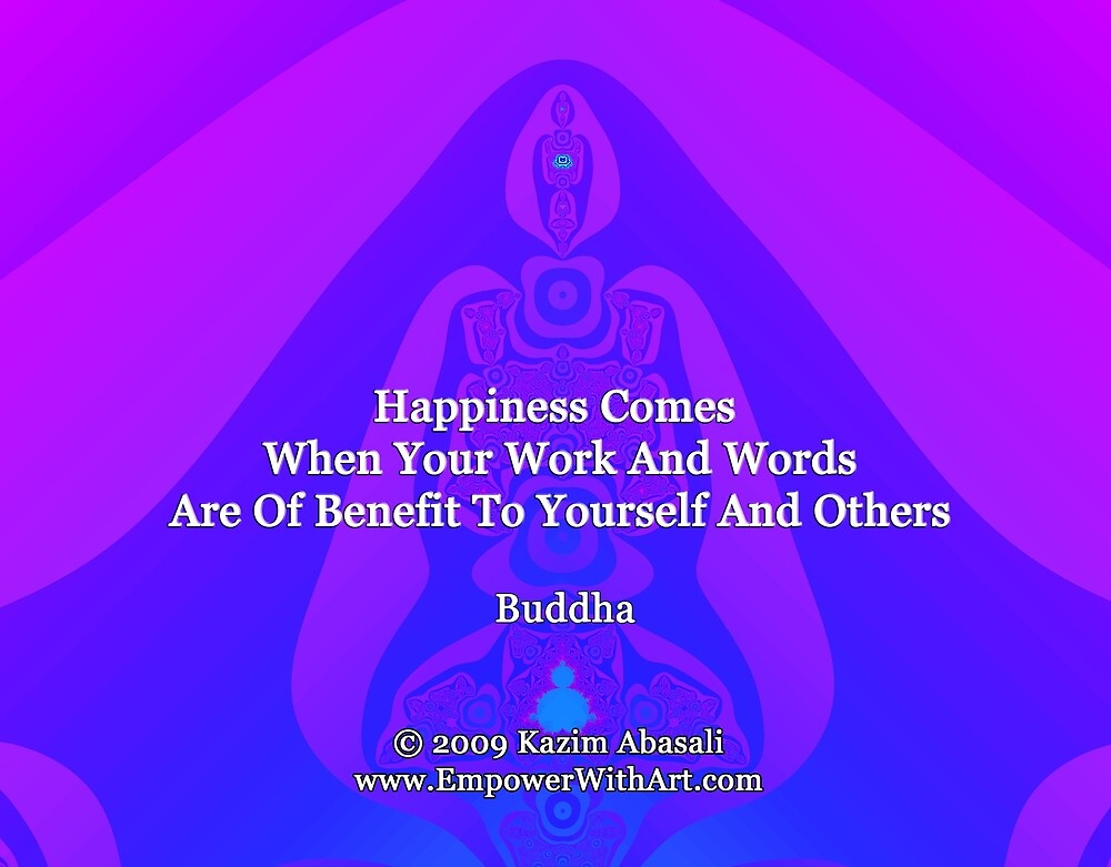 Happiness Comes by empowerwithart