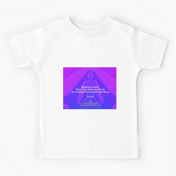 Happiness Comes Kids T-Shirt