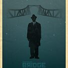 Steven Spelberg's BRIDGE OF SPIES (blue version) by Alain Bossuyt