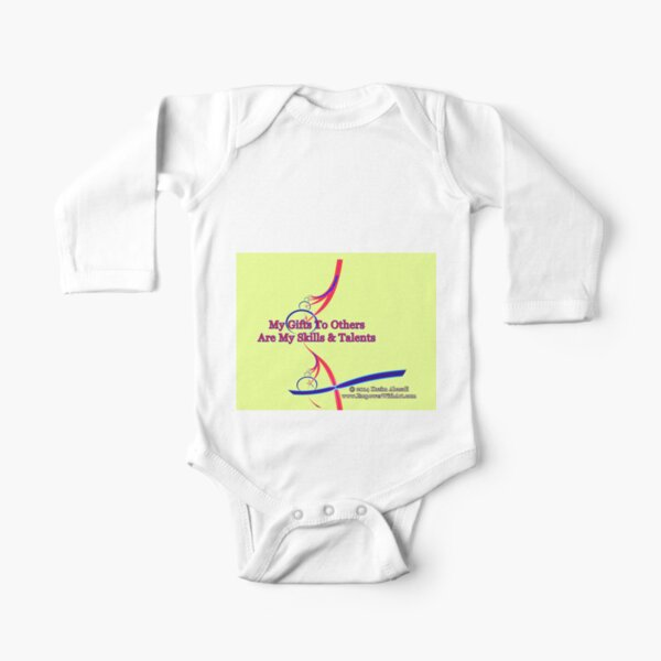 My Gifts To Others Long Sleeve Baby One-Piece