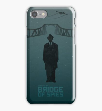 Steven Spelberg's BRIDGE OF SPIES (blue version) iPhone Case/Skin
