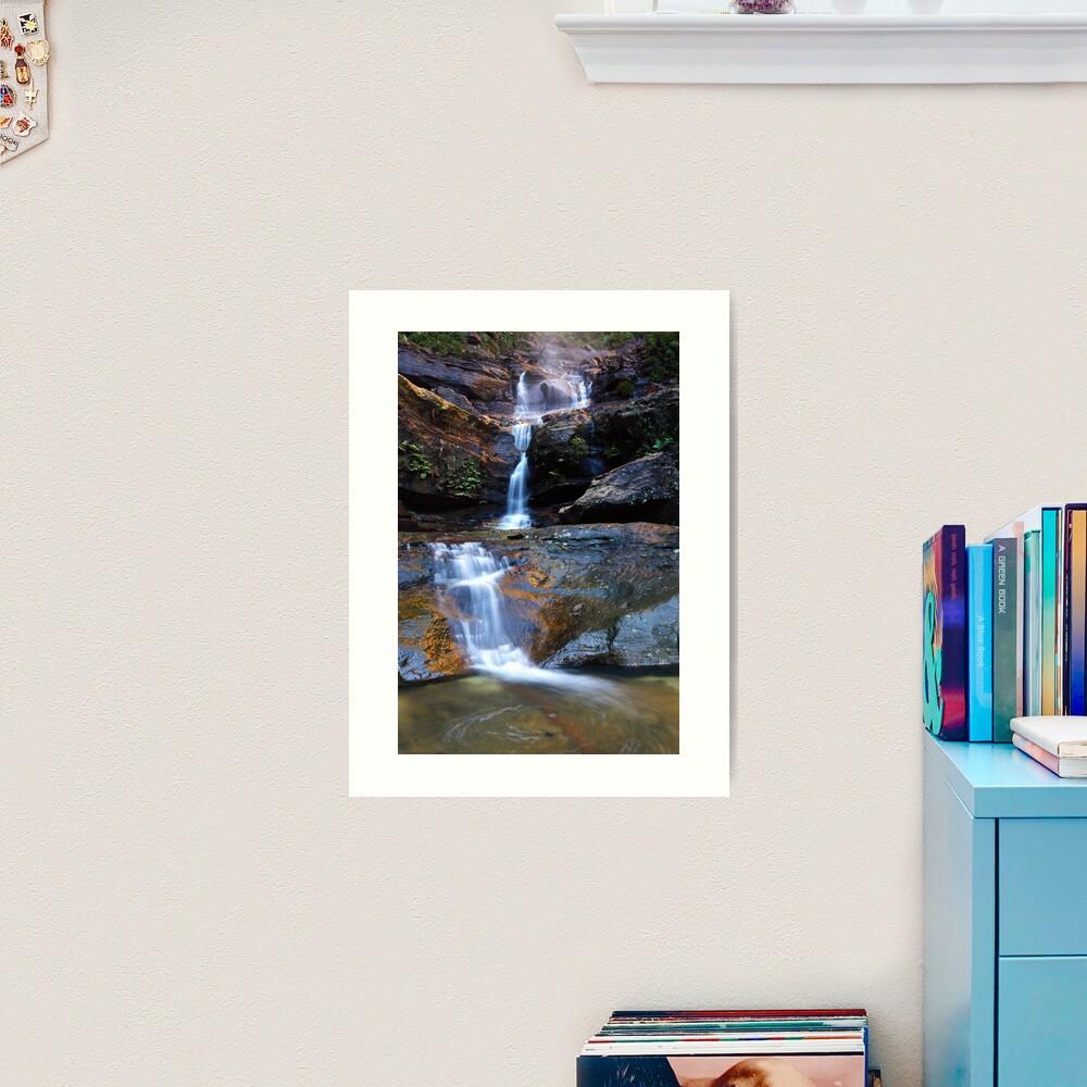 Upper Wentworth Falls, Blue Mountains, Australia Art Print