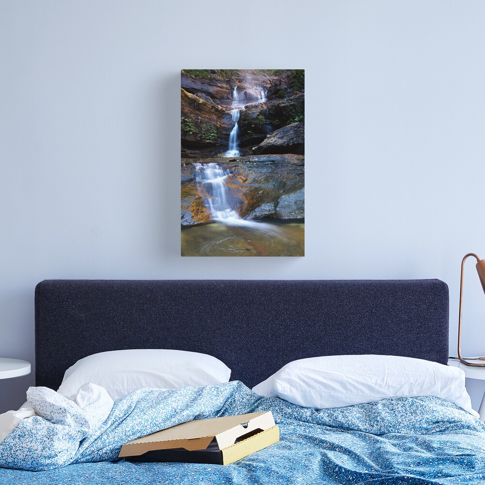 Upper Wentworth Falls, Blue Mountains, Australia Canvas Print