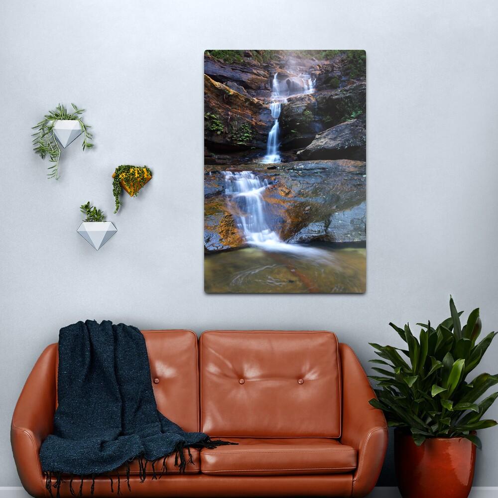 Upper Wentworth Falls, Blue Mountains, Australia Metal Print