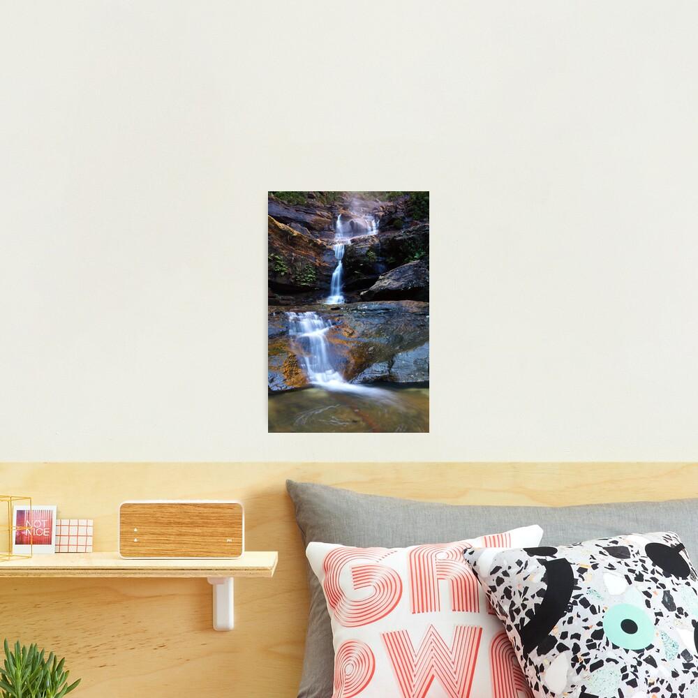 Upper Wentworth Falls, Blue Mountains, Australia Photographic Print