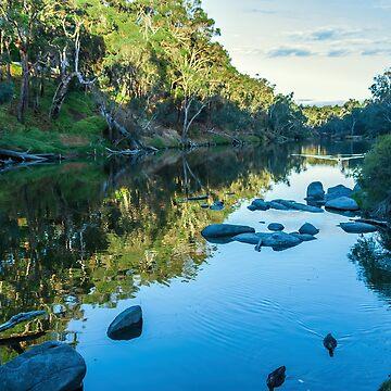 Blackwood River Rocks, Bridgetown, Western Australia by decoaddict