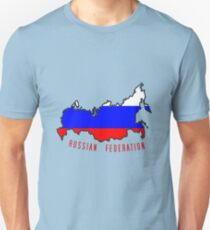 Zammuel's Country Series - Russia (Russian Federation V2) Unisex T-Shirt