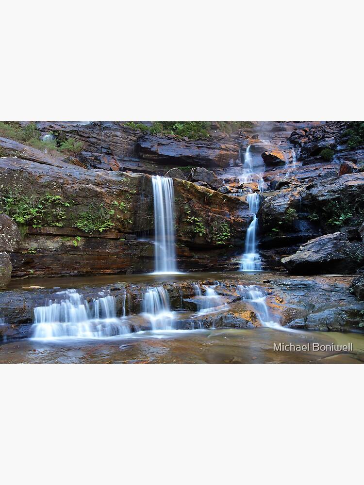 Upper Wentworth Falls, Blue Mountains, Australia by Chockstone