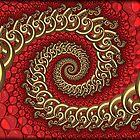 Embryonic Spirals... by Roz Rayner-Rix