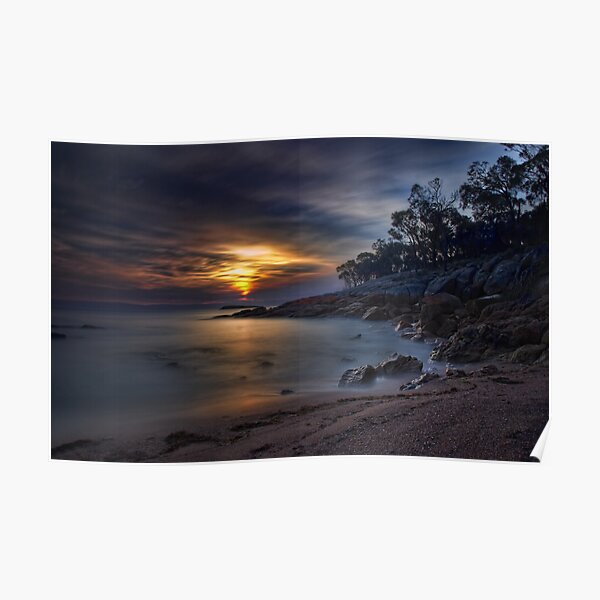 Coles Bay Sunset Poster