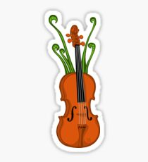 Fiddleheads Sticker