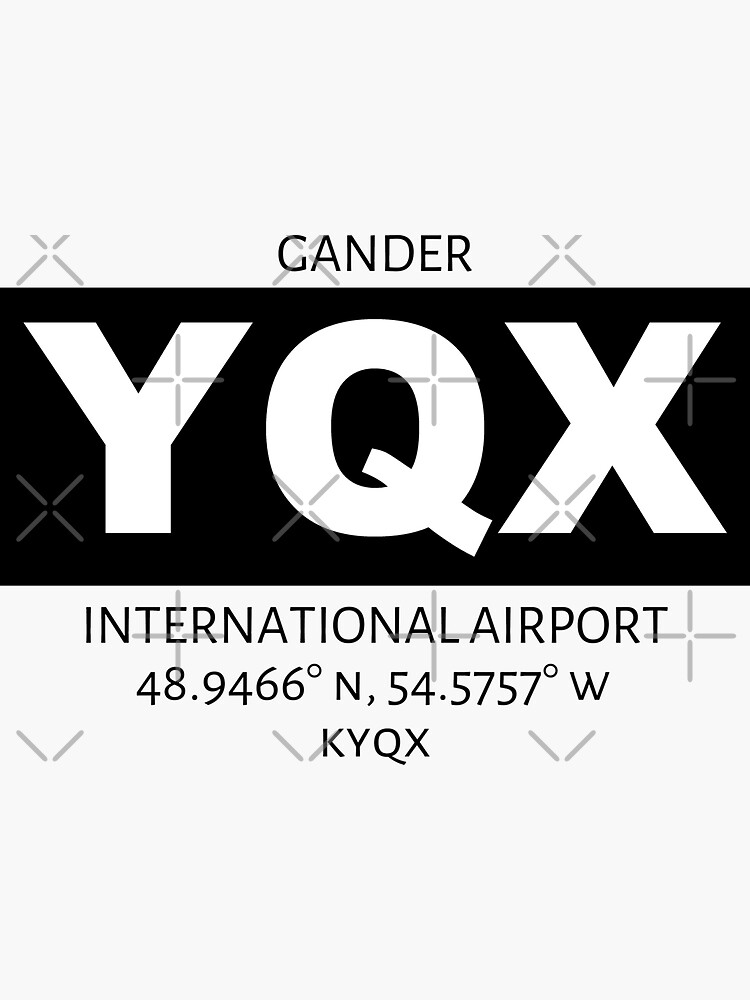 Gander International Airport YQX by AvGeekCentral