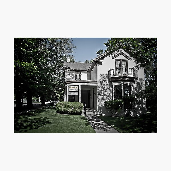 Orin Clemens' Home Photographic Print