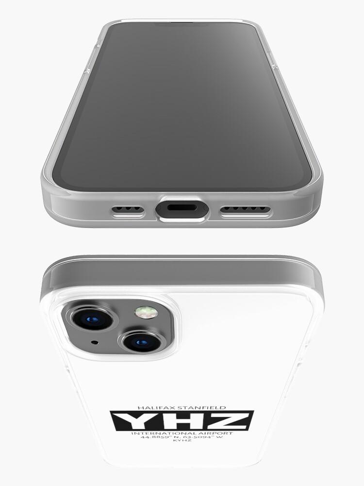 Alternate view of Halifax Stanfield International Airport YHZ iPhone Case