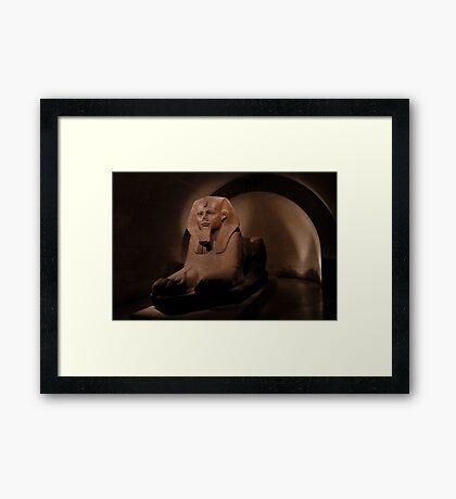 Great Sphinx of Tanis Framed Print