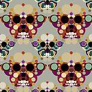 New Beginnings - Skull Butterflies by BigFatArts