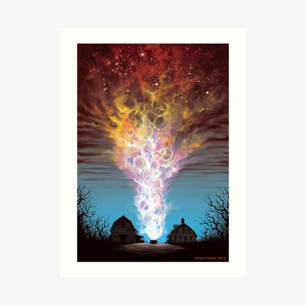 The Colour Out of Space - Colour Variant 2 Art Print