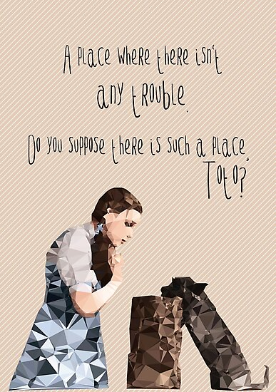 Dorothy and Toto's Place //pastel by Happy Thoughts