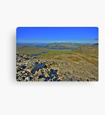 Lough Inagh Valley  Canvas Print