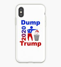 Dump Trump iPhone-Hülle & Cover