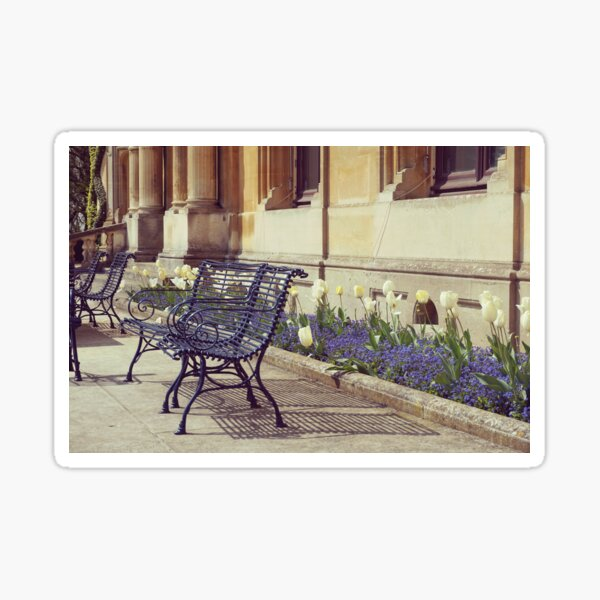 Old Benches Sticker