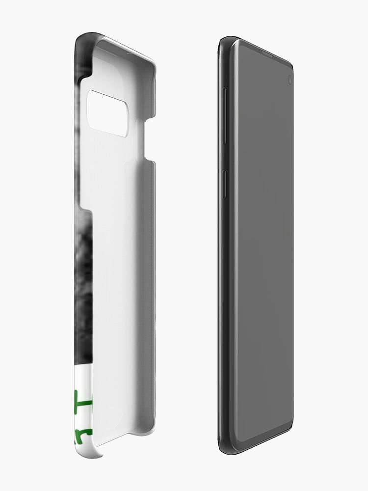 Alternate view of (Tex's Photo Phun #3) He Farted! -[Kount Kracula Sez:] -c/o https://www.redbubble.com/people/TexWatt?asc=u Case & Skin for Samsung Galaxy