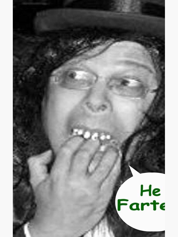 (Tex's Photo Phun #3) He Farted! -[Kount Kracula Sez:] -c/o https://www.redbubble.com/people/TexWatt?asc=u by TexWatt
