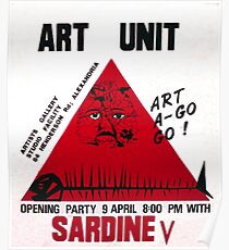 The very first poster from Art Unit Poster