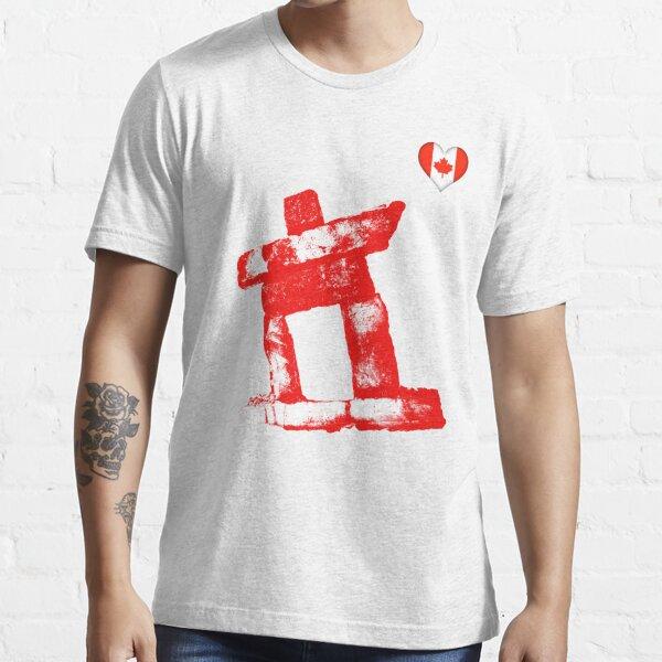 I love Canada rock man -RED- Essential T-Shirt