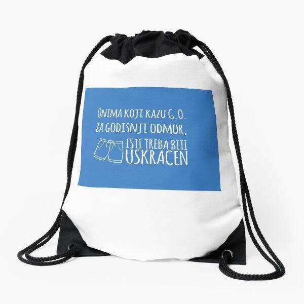 Godišnji odmor Drawstring Bag