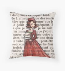 Armfuls Of Books Throw Pillow