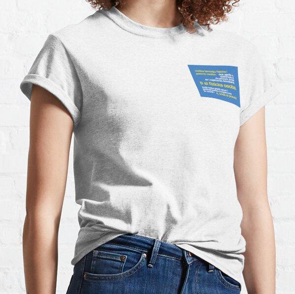 Mali rječnik gradskog žargona 2 Classic T-Shirt