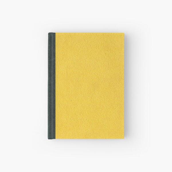 Basic Yellow Hardcover Journal