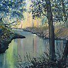 Rainbow River by Glenn  Marshall