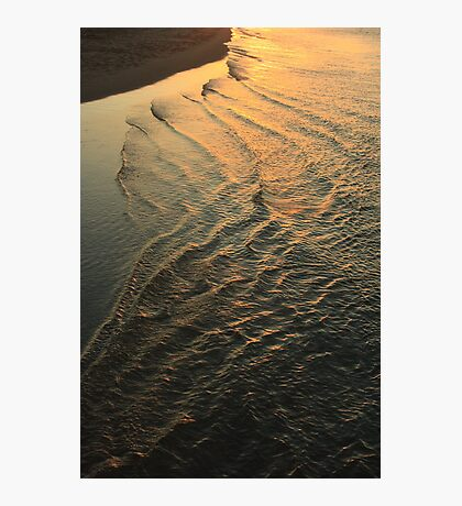 Tide comes in Photographic Print