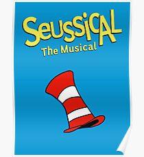 Seussical das musikalische musikalische Design Poster