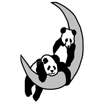 Panda Moon by imphavok