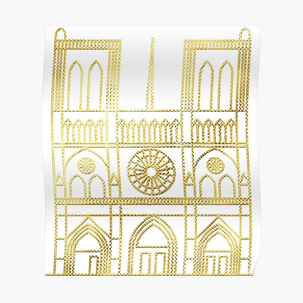 Remembering Notre Dame Poster