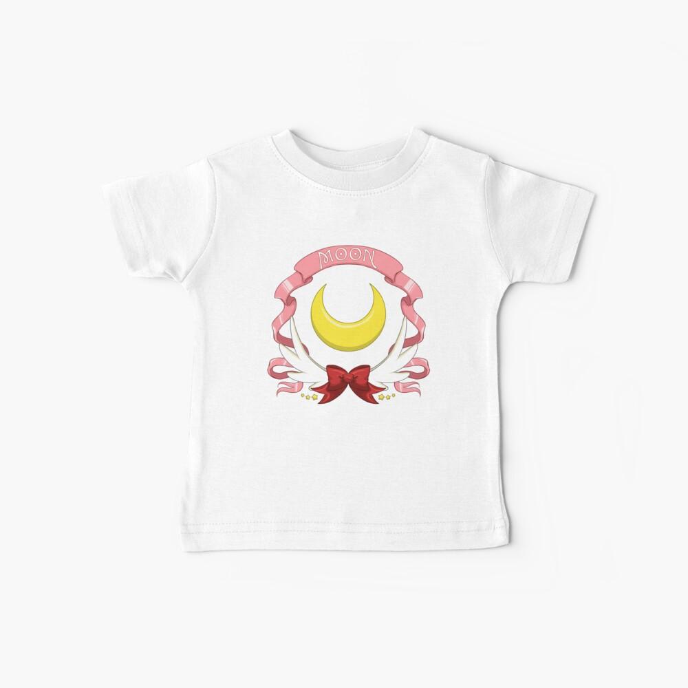 Sailor Signs - Moon (Variante azul) Camiseta para bebés