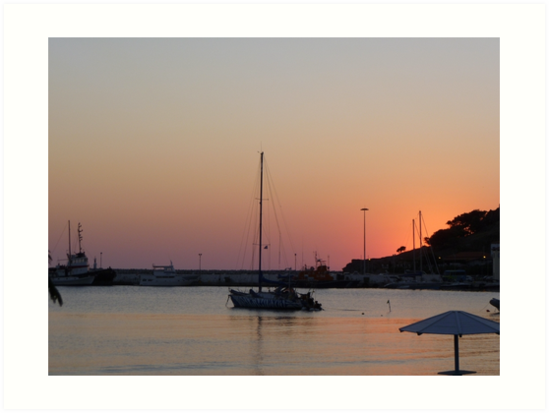 Calm Sunset by Vicki Spindler (VHS Photography)