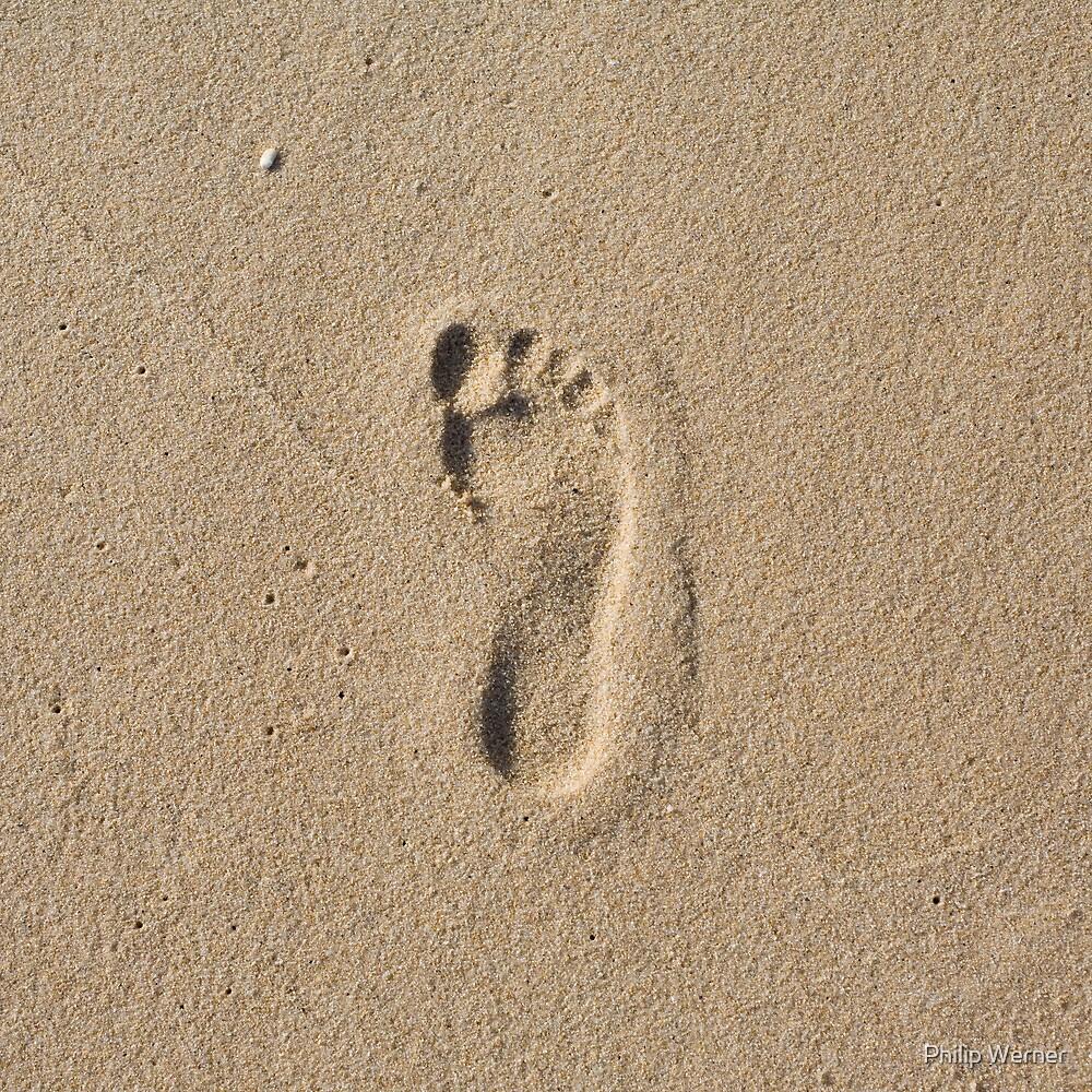 My foot by Philip Werner