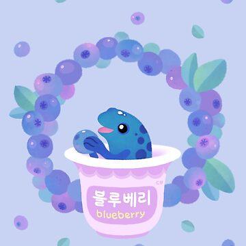 Blueberry poison yogurt 2 by pikaole