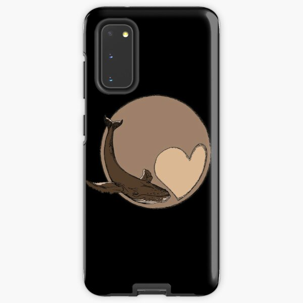 Pluto: Whale and Heart Samsung Galaxy Tough Case