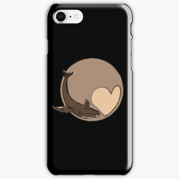 Pluto: Whale and Heart iPhone Snap Case