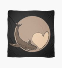 Pluto: Whale and Heart Scarf