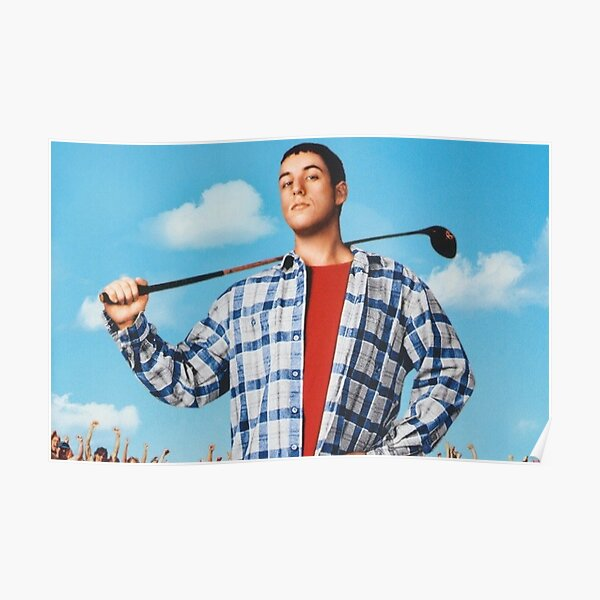 Happy Gilmore Movie Scene Poster