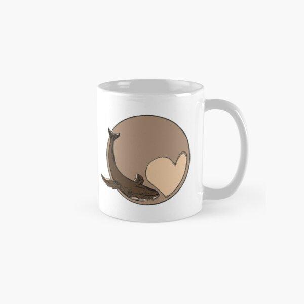 Pluto: Whale and Heart Classic Mug
