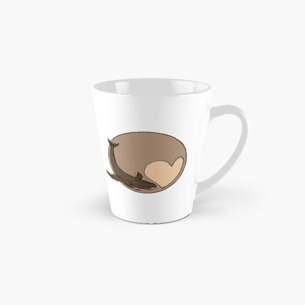 Pluto: Whale and Heart Tall Mug