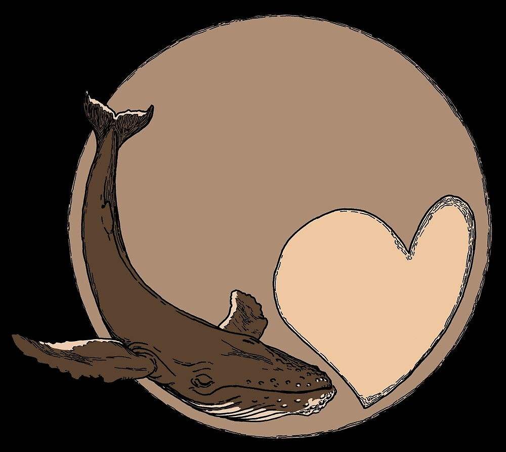 Pluto: Whale and Heart by pdonz