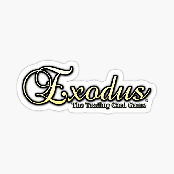 Exodus The Trading Card Game Sticker